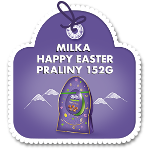 MILKA HAPPY EASTER PRALINY 152G