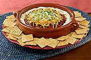 Quick Layered Mexican Dip Recipe