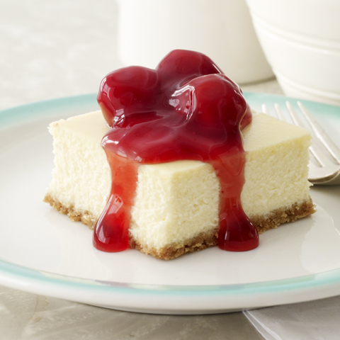 New York Cheesecake Squares Recipe