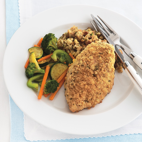 No-Fuss Crispy Chicken Dinner Recipe