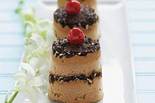 "Frozen Chocolate ""Soufflés"" Recipe"