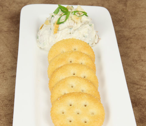 Blue Cheese & Walnut Spread with RITZ Crackers Recipe