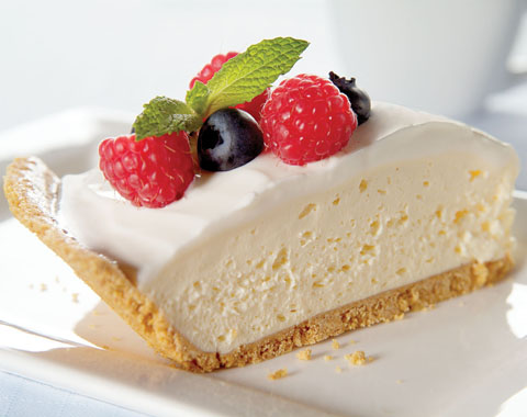 Quick Sour Cream and Fruit-Topped Cheesecake Recipe