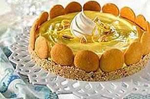 Lemon Truffle Torte Recipe