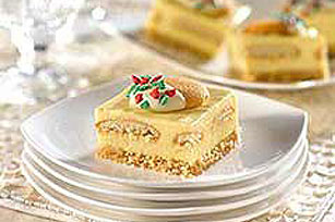 "Holiday ""Eggnog"" Squares Recipe"