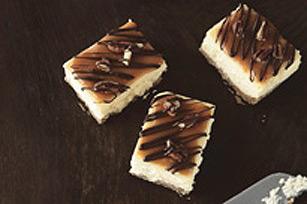 Caramel-Pecan Cheesecake Bars Recipe