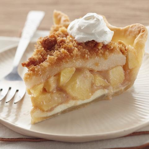 Tarte croquante aux pommes et aux poires recette