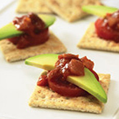 """Tomat-ocado"" Snacks Recipe"