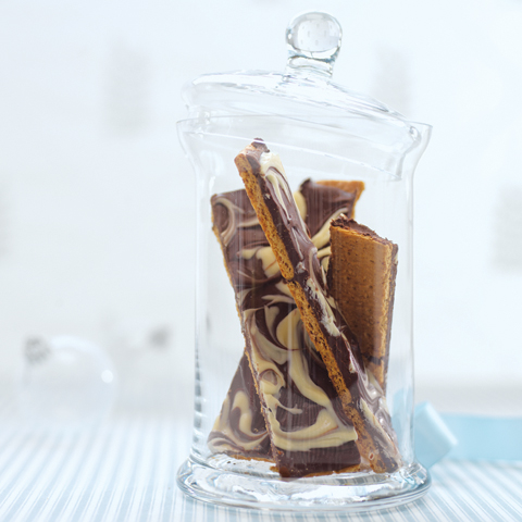 HONEY MAID Marbled Chocolate Treats Recipe