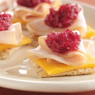 TRISCUIT Turkey-Cranberry Boost Recipe