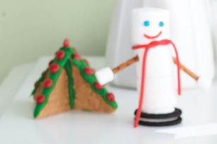 Marshmallow Snowman Recipe