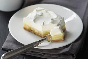 Triple Layer Banana Cream Pie Bars Recipe