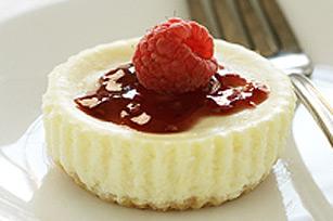 Mini Raspberry Cheesecakes Recipe