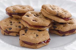 Mini-sandwichs au beurre d'arachide et à la confiture recette