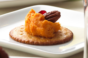 Maple-Sweet Potato Appetizers
