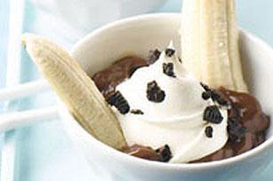 Banane royale poudrée d'OREO recette