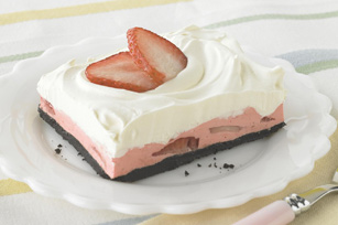 Strawberry Mousse Squares Recipe