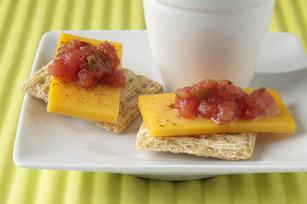 Simple TRISCUIT Salsa Bites Recipe