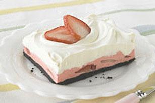 Strawberry Mousse Squares Recipe