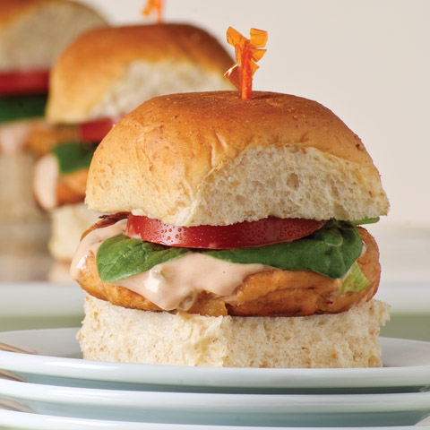 Mini Salmon Burgers Recipe