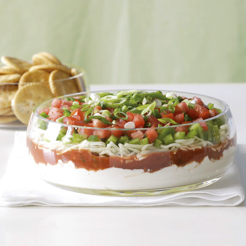Festive Favorite Layered Dip Recipe