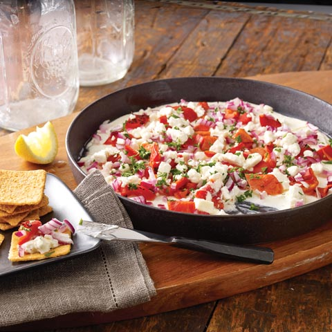 WHEAT THINS Greek Antipasto Dip Recipe