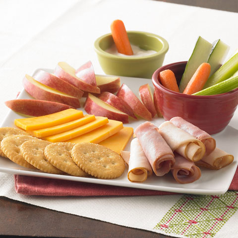 Quick 'N Easy Deli Plate Recipe