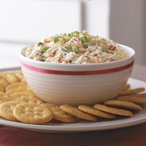 RITZ Creamy Crab and Red Pepper Spread Recipe
