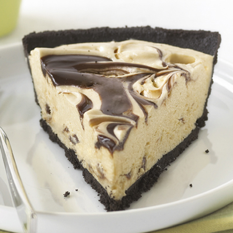 OREO Peanut Butter & Fudge Swirl Pie Recipe