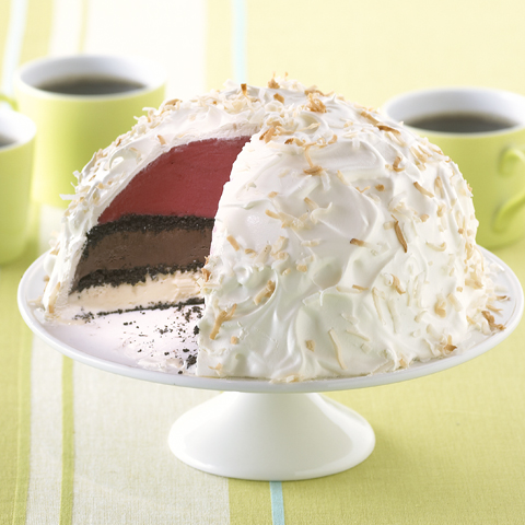 Triple-Layered OREO Ice Cream Torte Recipe