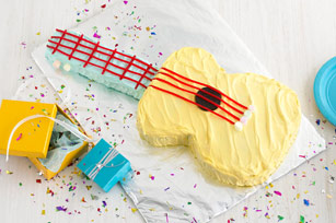 Strum-Along Guitar Cake Recipe
