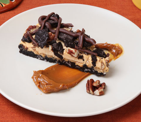 Dulce de Leche Pie with NUTTER BUTTER & OREO Recipe