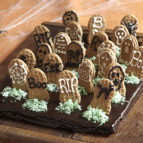 Graveyard Brownies Recipe