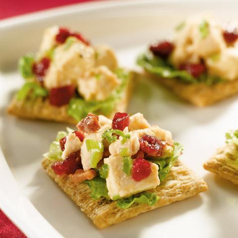Festive Cranberry-Chicken Topper Recipe