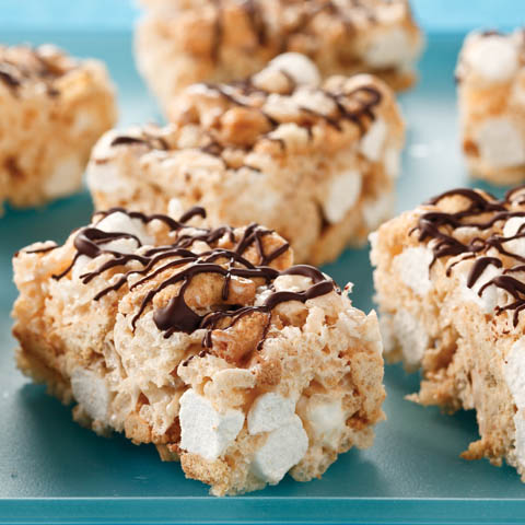 Crispy S'more Bars Recipe