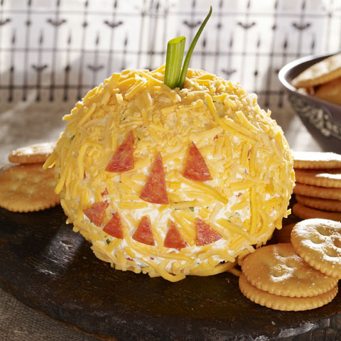 Cheesy Jack-o'-Lantern Recipe