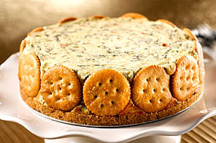 RITZ Spinach-Cheese Torte Recipe