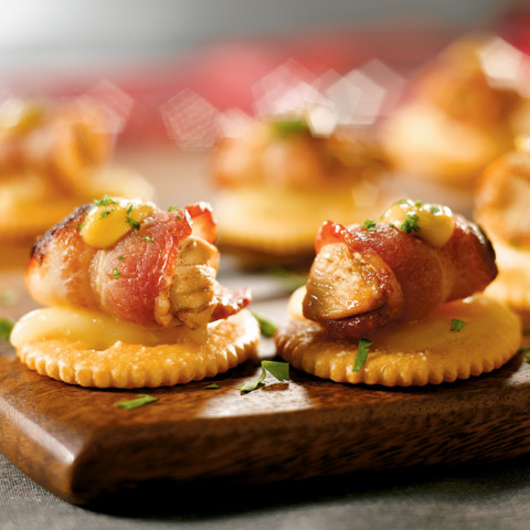 Bacon-Wrapped Chicken Bites Recipe
