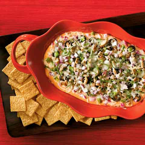 WHEAT THINS Veggie Pizza Dip Recipe