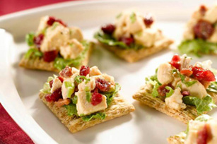 Festive Cranberry-Chicken Topper Recipe