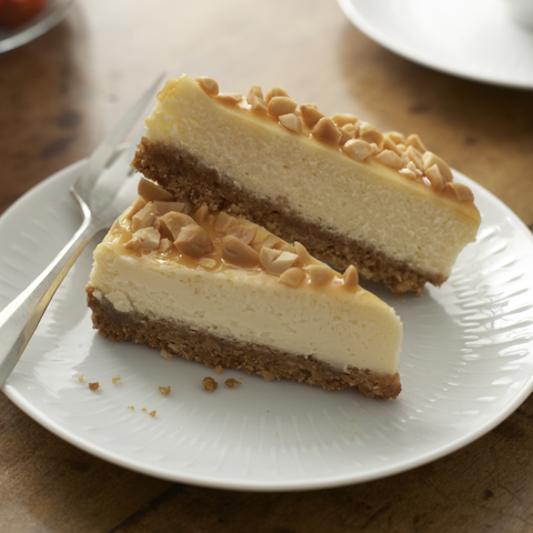 HONEY MAID Caramel-Nut Cheesecake Recipe