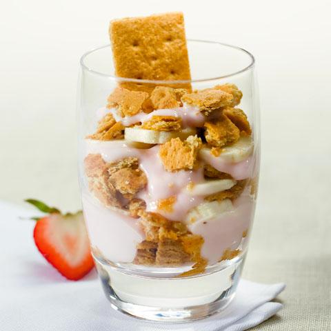 Honey Graham Morning Parfait Recipe
