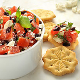 "Feta ""Bruschetta"" Recipe"