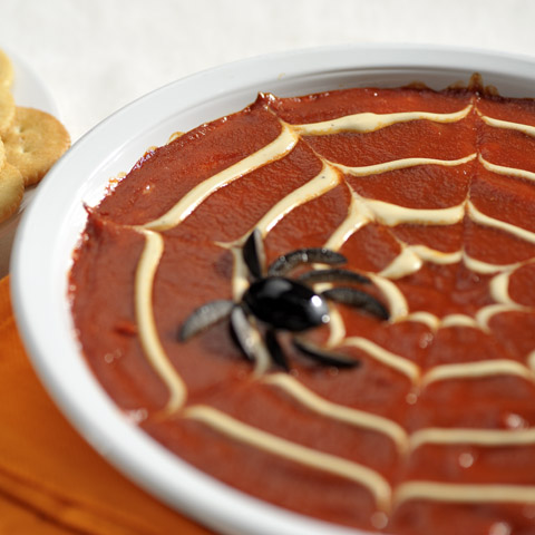 Spider Web Pizza Spread Recipe