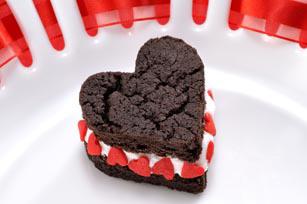 OREO CAKESTERS Heart Recipe