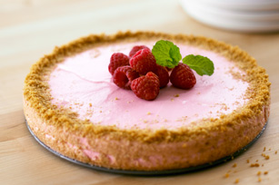 Raspberry Souffle Cheesecake Recipe