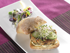 Black Bean & Quinoa Veggie Burger with RITZ Recipe