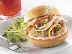 Mini Crab Cake Roll with PREMIUM Saltines Recipe