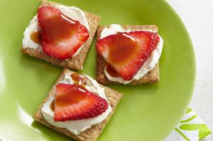 Délice balsamique aux fraises recette
