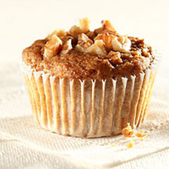 Banana-Nut Graham Muffins Recipe